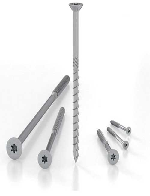 SCI High Tech Stainless Steel cladding screws - Holz Technic by Rothoblaas
